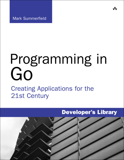 Programming in Go book cover