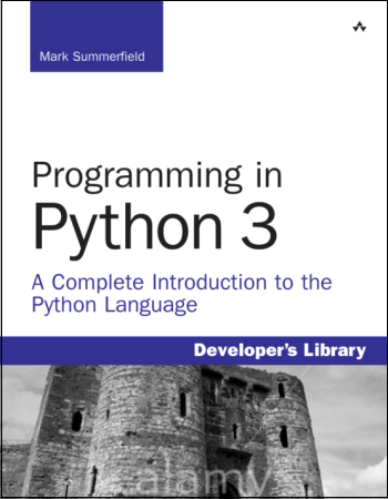 Programming in Python 3 book cover